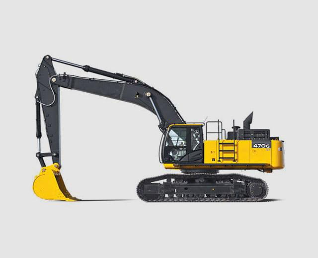Excavator | HeavyCrawler - 48 Tons